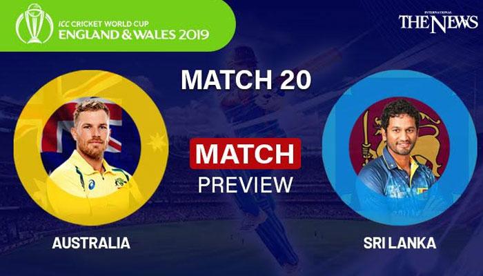 Australia v Sri Lanka in Numbers