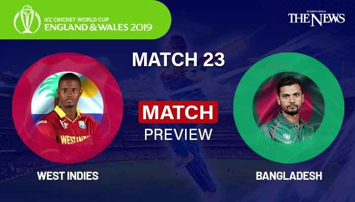 Bangladesh vs. West Indies 6/17/19 - Cricket World Cup - Odds, Prediction, Pick