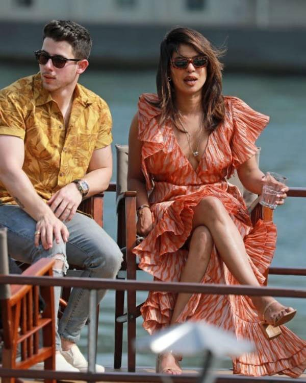 Priyanka Chopra Is A Black Magic Woman In Paris With Nick Jonas
