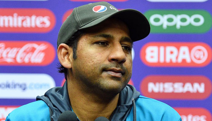 Sarfraz Ahmed reveals his wife's reaction after watching viral body-shaming video