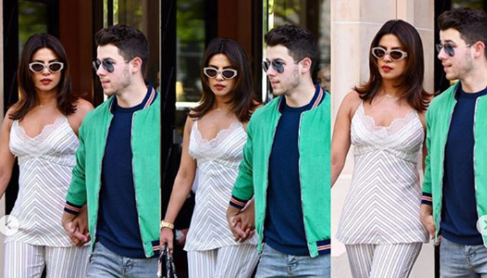 Priyanka Chopra at Joe Jonas and Sophie Turner's pre-wedding bash