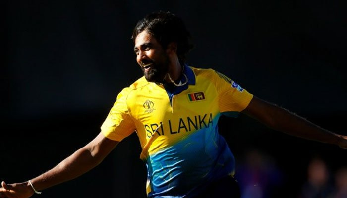 Sri Lanka's Nuwan Pradeep out of World Cup with chicken pox