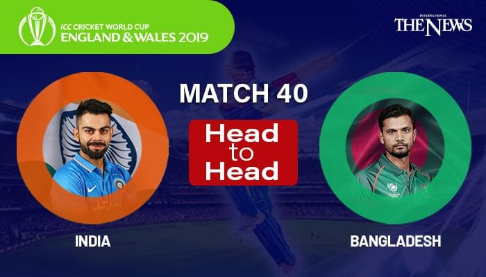 Bangladesh vs India - Highlights & Stats