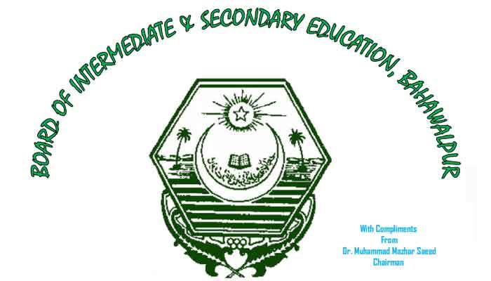 BISE Bahawalpur SSC Results 2019: Punjab Board 10th Class