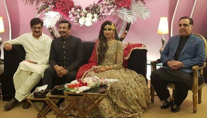 TV anchor Madeha Naqvi marries MQM-P leader Faisal Sabzwari