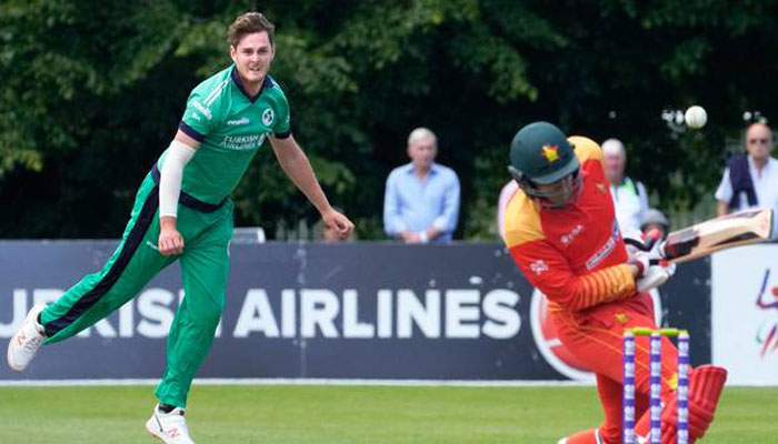 Ireland are blowing England away in Cricket