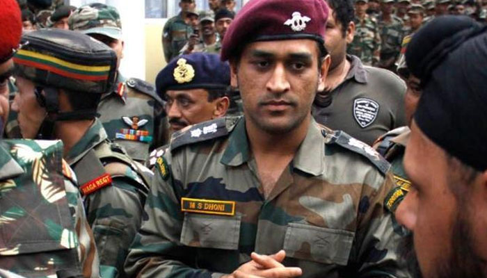 Dhoni to join his Army battalion in Kashmir from July 31