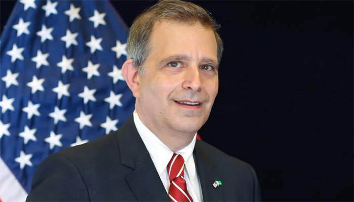 Robert Silberstein assumes charge as U S  Consul General in