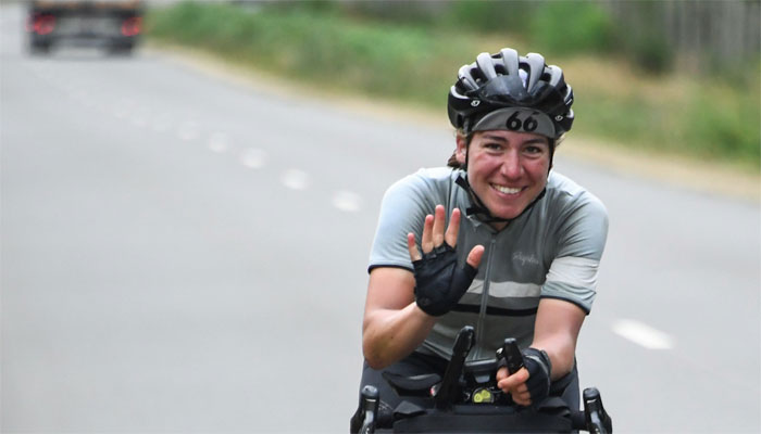 German cancer researcher first woman to win 4,000km cycling race