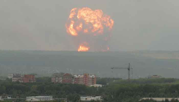5 nuclear scientists killed in rocket test explosion, radiation spreads