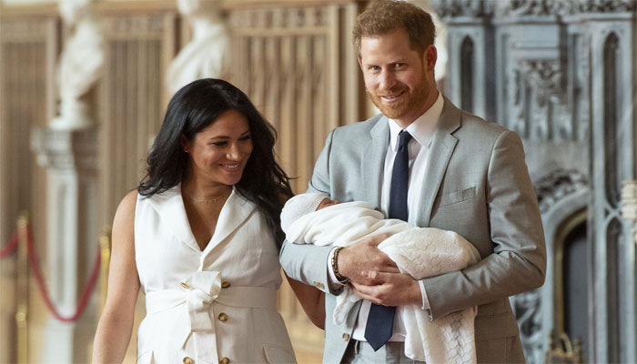 Meghan Markle, Prince Harry and son Archie celebrate Duchess