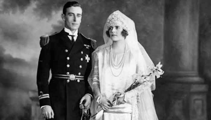 Image result for mountbatten wife