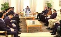 Chinese Foreign Minister Wang Yi calls on PM Imran