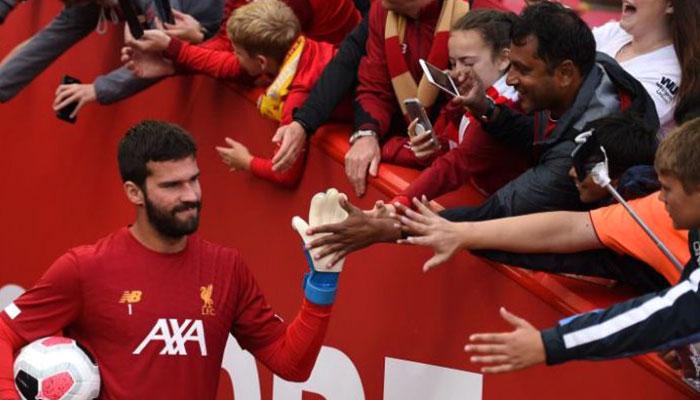 FIFA The Best: Liverpool star Alisson Becker wins best goalkeeper award