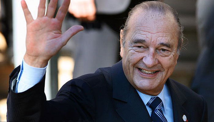 Ex-French President Jacques Chirac dies, aged 86