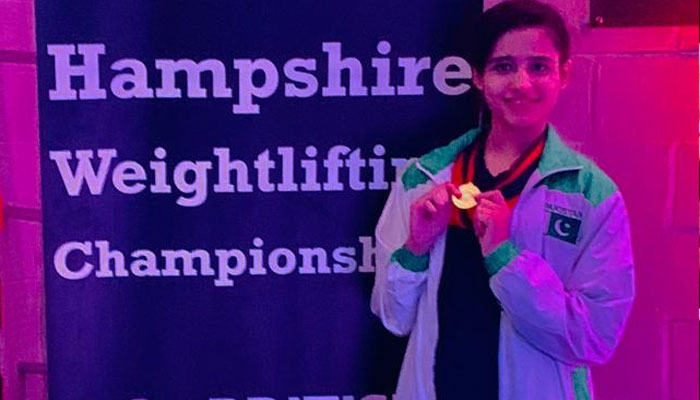 Image result for Pakistan's Rabia claims gold in Hampshire Weightlifting Championship