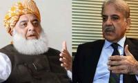 Fazl telephones Shehbaz Sharif