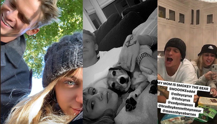 Cody Simpson spends quality time with Miley Cyrus and her family
