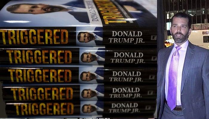 Donald Trump Jr releases provocative book defending father