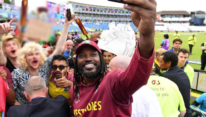 Gayle didn't leave in a huff, say Stars