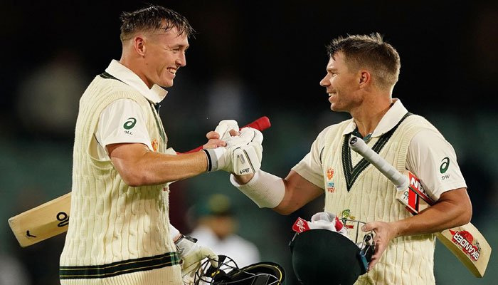 Marnus Labuschagne becomes year's leading run-scorer in Tests