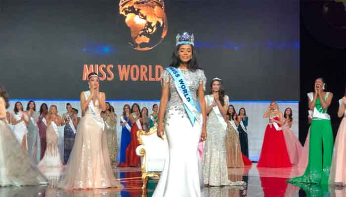 Jamaica wins Miss World crown