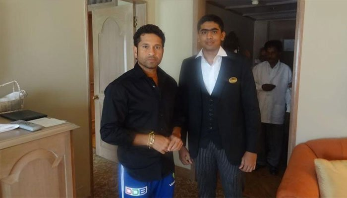 Taj finds employee who gave advice to Sachin Tendulkar
