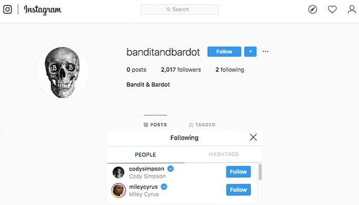 Miley Cyrus & Cody Simpson Have Filed Paperwork For 'Bandit and Bardot' Trademark