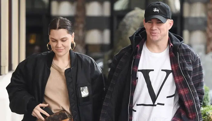 Channing Tatum and Jessie J spotted together - one month after split