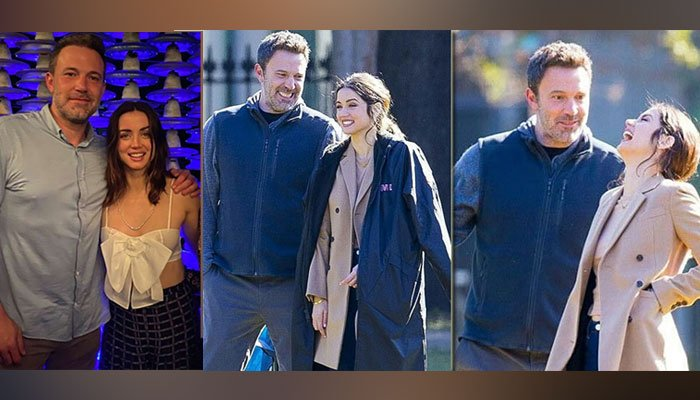 Ben Affleck spotted getting cosy with Ana de Armas
