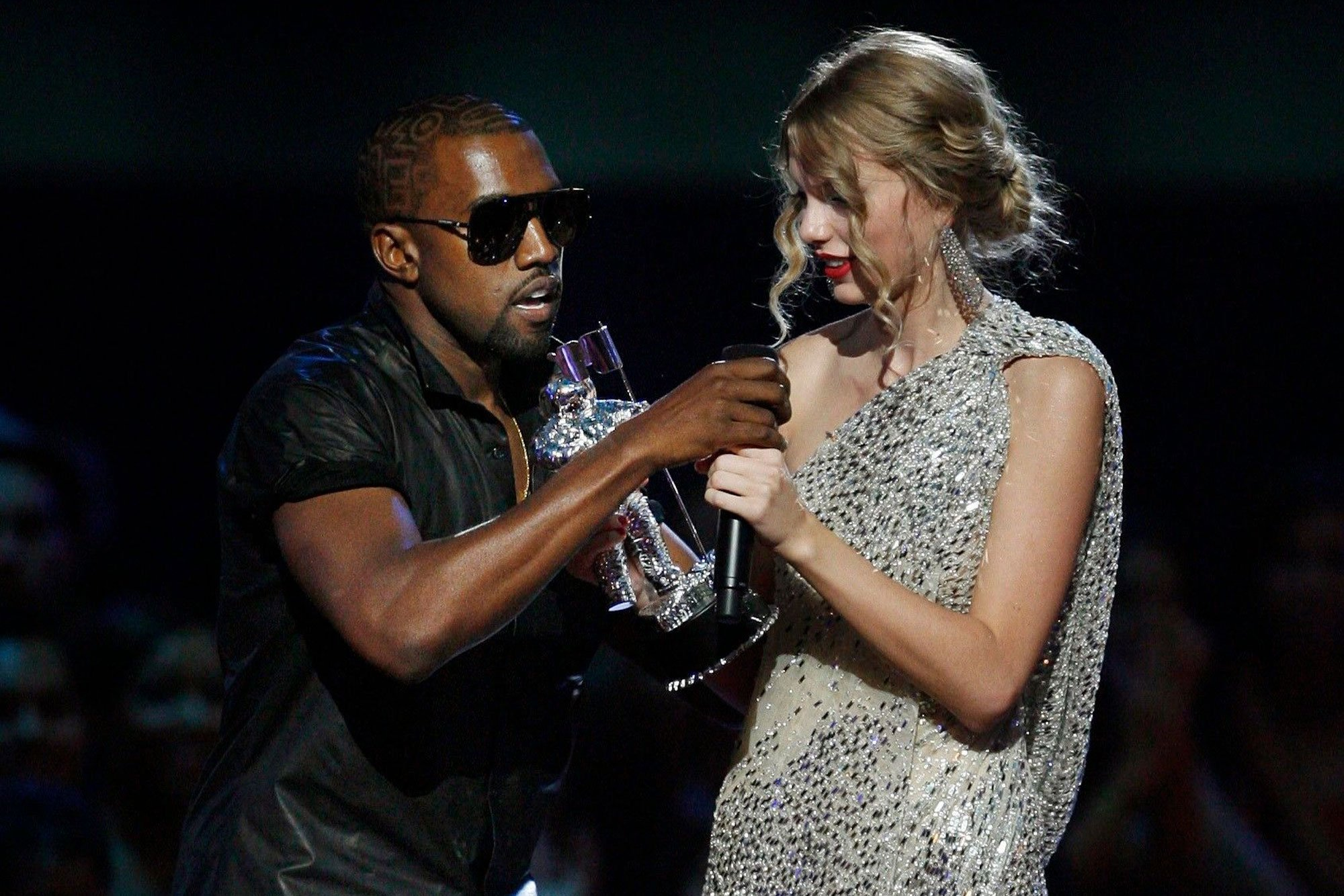 Taylor Swift, Kanye Wests famous phone call leaks: Kim, west slammed