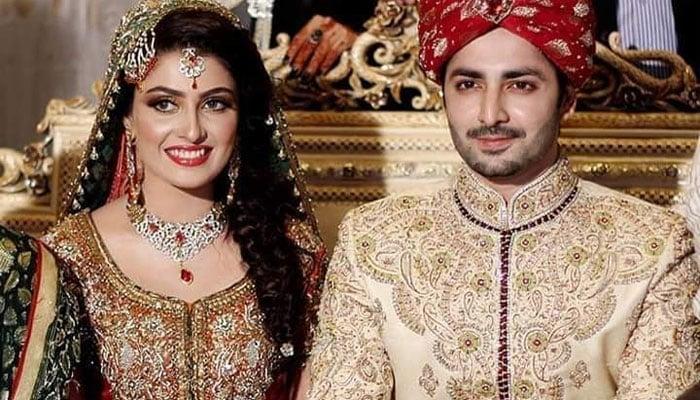 Ayeza Khan, wedding dress