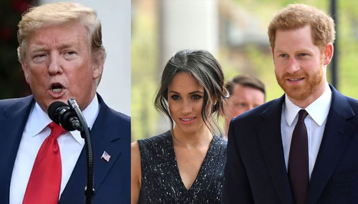Prince Harry and Meghan Markle receive shockingly direct message from Donald Trump