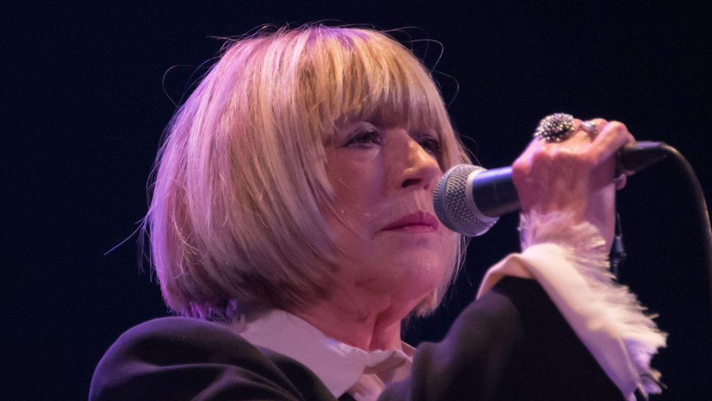Marianne Faithfull hospitalized with COVID-19