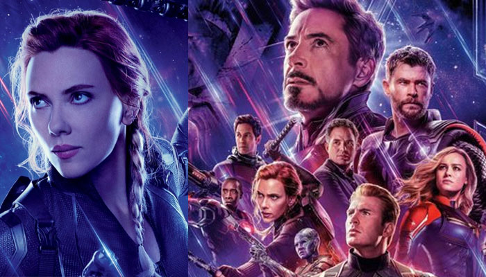 This is the alternative scene of Black Widow's death in Avengers: Endgame