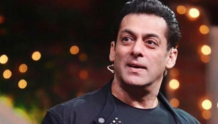 Salman Khan recreates scene from `Maine Pyar Kiya` with COVID-19 twist