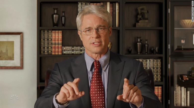 Fauci Rates Brad Pitt's Portrayal of Him on 'SNL'