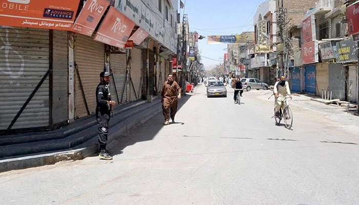 Balochistan govt extends lockdown for 15 more days