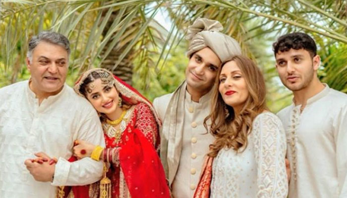 Sajal Ali showers love on mother-in-law on Mother's Day