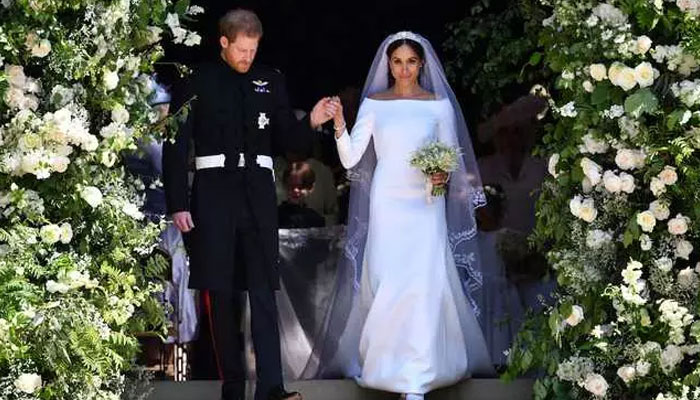 How Harry and Meghan spent their second wedding anniversary in lockdown