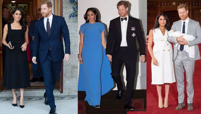 Prince Harry and Meghan Markle were 'reflective' on their second wedding anniversary