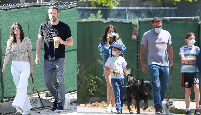 Ben Affleck convenes kids to spend time with girlfriend Ana de Armas