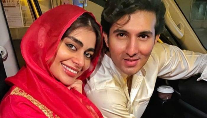 Sadaf Kanwal And Shehroze Sabzwari Ties Knot