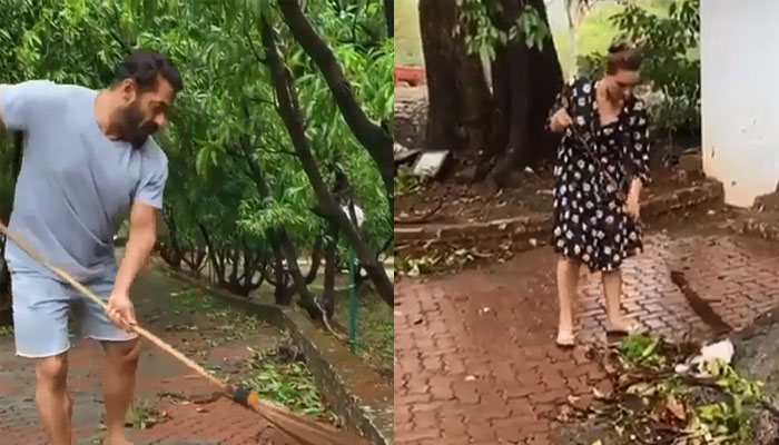 Salman Khan's Panvel Farmhouse Affected by Cyclone Nisagra, Iulia Vantur Shares Pics
