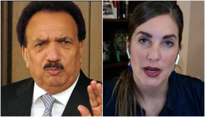 Cynthia Ritchie served second defamation notice for allegations on TV against Rehman Malik