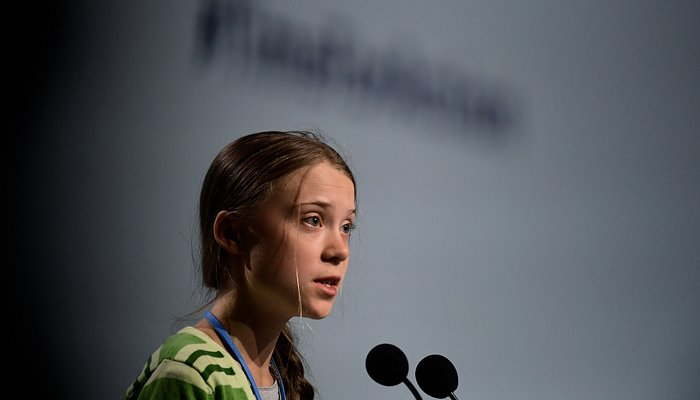 Thunberg urges world to tackle climate change with same urgency as coronavirus