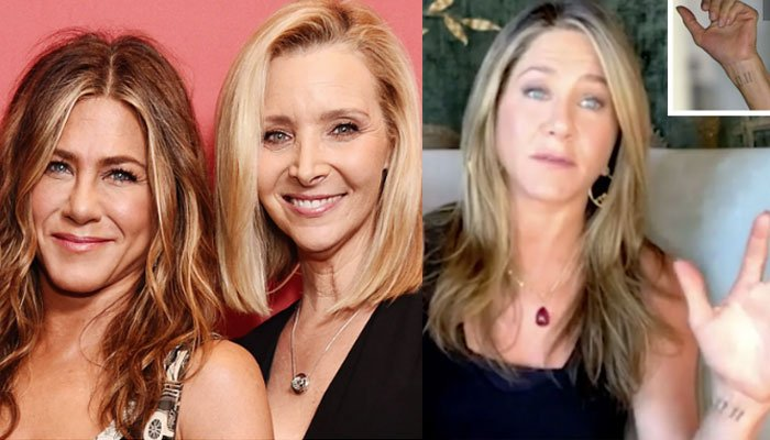 Friends' Kudrow, Aniston on work 'commitment issues'