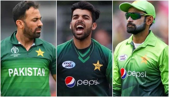 Pakistan versus England: Hafeez, Wahab, Shadab among 10 players dropped from Pakistan crew