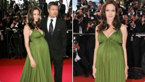 When Angelina Jolie emanated at Cannes, displaying her child knock with Brad Pitt