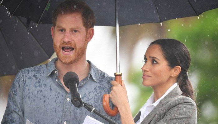 Prince Harry, Meghan Markle speak at Queens Commonwealth Trust